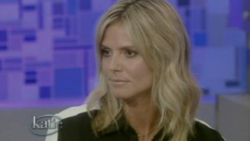 Heidi Klum on 'Katie'