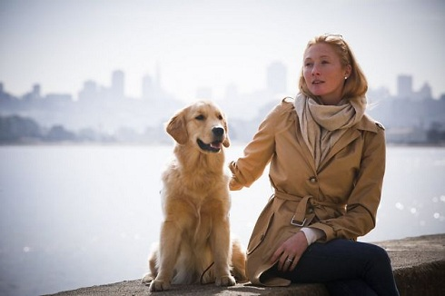 Maggie Rizer and her dog Bea before he was killed on a United Airlines flight