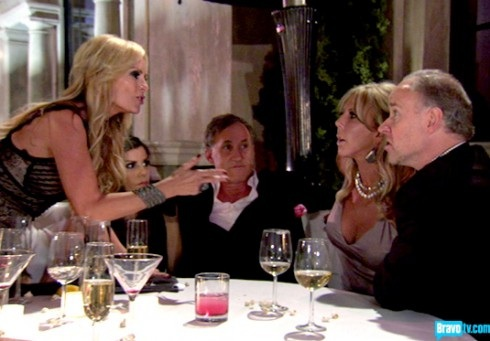 Tamra Barney, Brooks Ayers, and Vicki Gunvalson on 'Real Housewives of Orange County'