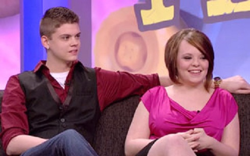 Catelynn Lowell and Tyler Baltierra in the 'Teen Mom' season 4 reunion special