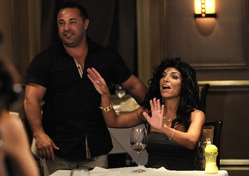 Teresa and Joe Giudice on 'Real Housewives of New Jersey'