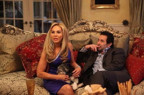 Adrienne Maloof and Paul Nassif on 'Real Housewives of Beverly Hills'