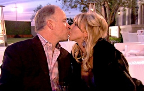 Brooks Ayers and Vicki Gunvalson on 'Real Housewives of Orange County'