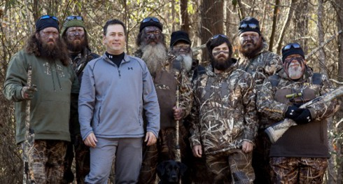Duck Dynasty Alan Robertson Willie Robertson Jase Robertson Phil