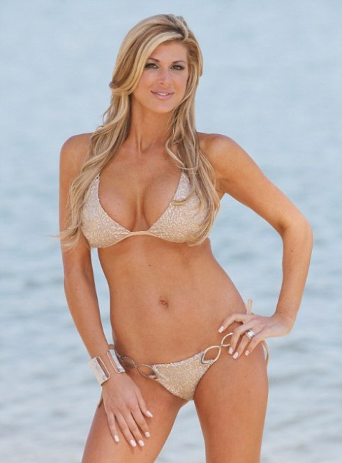 Alexis Bellino bikini photo Real Housewives of Orange County