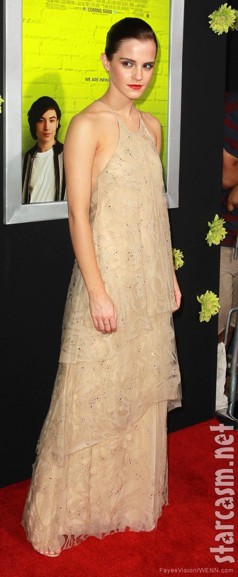 Emma Watson Los Angeles premiere of The Perks of Being A Wallflower