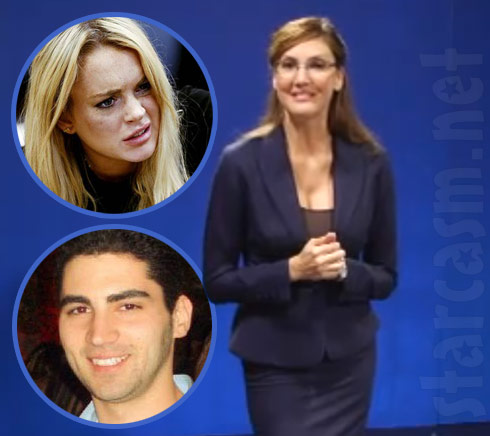 Heather McDonald supports alleged Lindsay Lohan attacker Christian LaBella as Sarah Palin