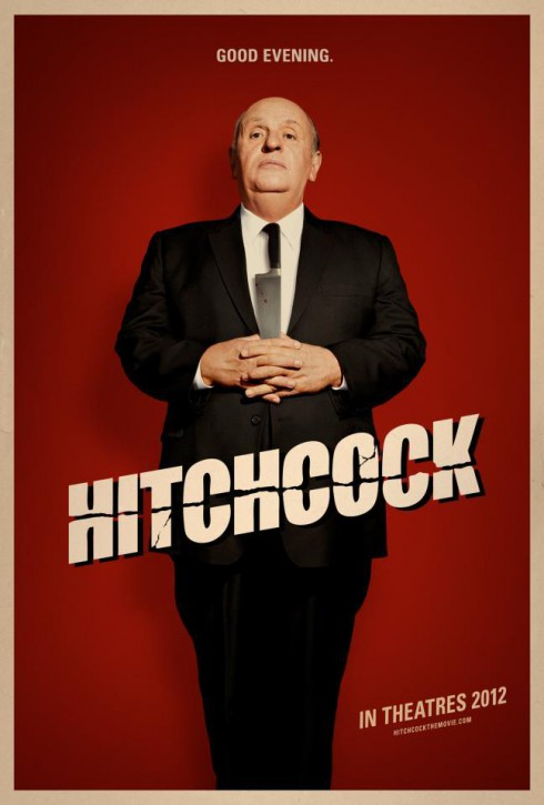 Hitchcock 2012 movie poster with Anthony Hopkins