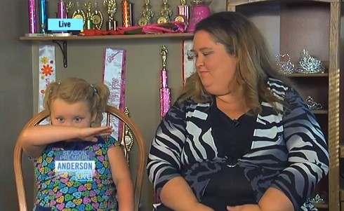 Honey Boo Boo and June Thompson on Anderson Season Premiere
