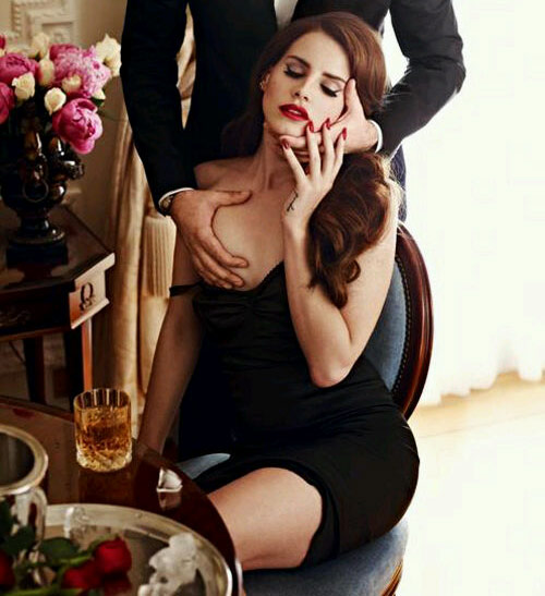 Lana Del Rey has breast groped in GQ