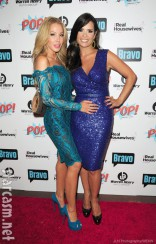 The Real Housewives of Miami Lisa Hochstein and Karent Sierra