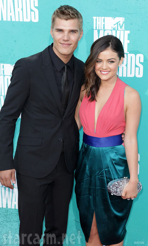 Pretty Little Liars Lucy Hale splits from boyfriend Chris Zylka