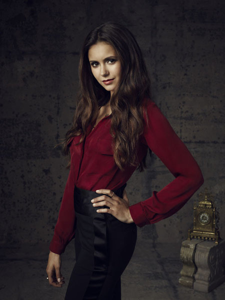 Vampire Diaries Season 4 Nina Dobrev as Elena Gilbert