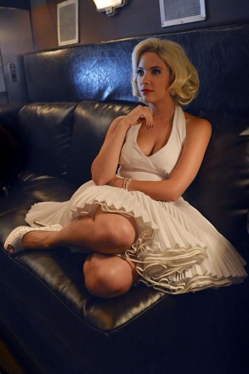Ashley Benson Hanna Marin Marilyn Monroe Pretty Little Liars Halloween episode