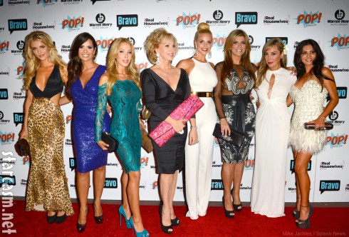Cast of The Real Housewives of Miami Season 2 at the premiere party