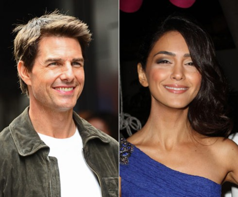 Tom Cruise and alleged recruited girlfriend Nazanin Boniadi