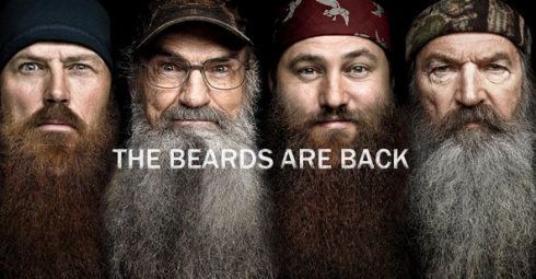 of duck dynasty s robertson family have beards wild and bushy beards