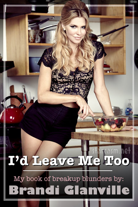 Brandi Glanville book cover I'd Leave Me Too