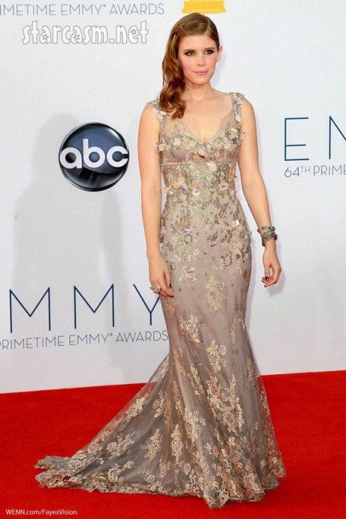 kate Mara Badgley Mischka gown 2012 Emmy Awards American Horror Story