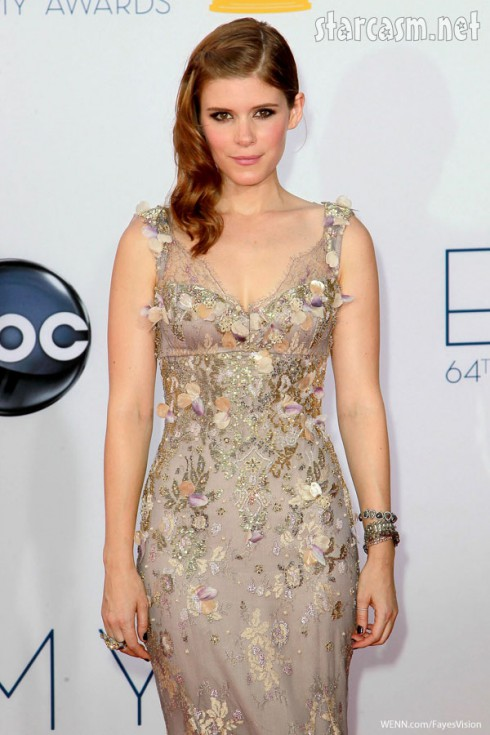 kate mara Badgley Mischka american horror story romantic dress 2012 Emmy Awards
