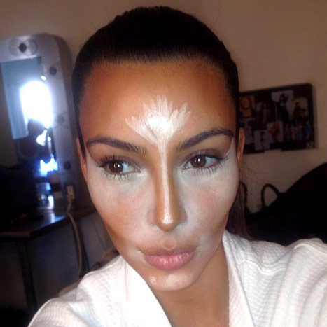 Kim Kardashian Before And After 90 minute Contouring Makeup Routine