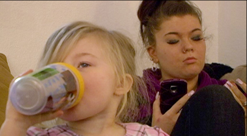Amber Portwood and Leah on 'Teen Mom' season 4