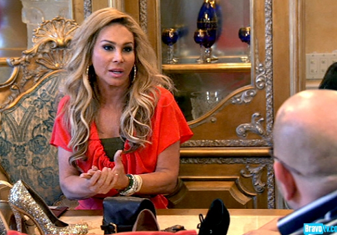 Adrienne Maloof works on shoe line on 'Real Housewives of Beverly Hills'