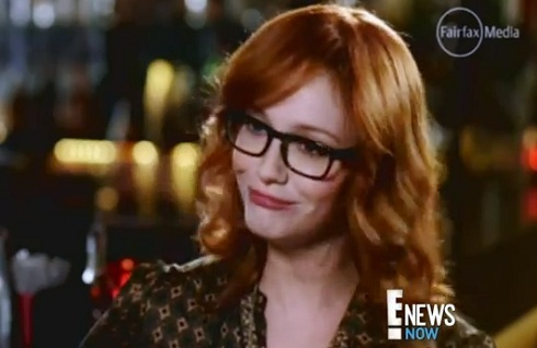 "Christina Hendricks' awkward ""full-figured"" interview in Australia"
