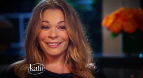 LeAnn Rimes appears on 'Katie' for her interview with Katie Couric