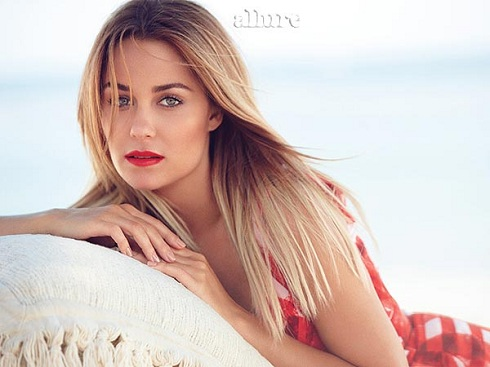 'The Hills' star Lauren Conrad in Allure Magazine