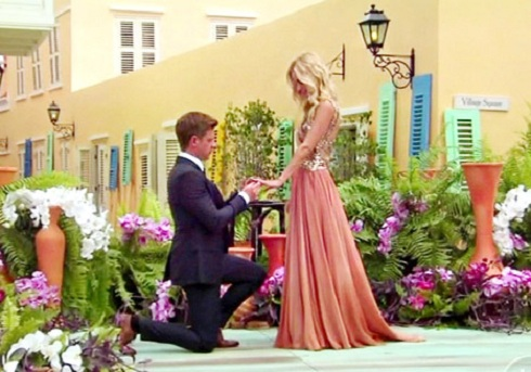 Jef Holm proposes to Emily Maynard on the season finale of 'The Bachelorette'