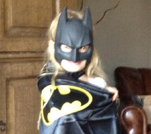 'Real Housewives of Beverly Hills' star Taylor's daughter Kennedy Armstrong as Batman