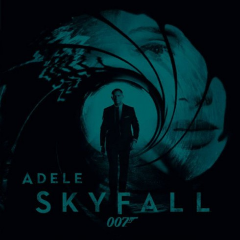 Adel Skyfall single artwork from James Bond