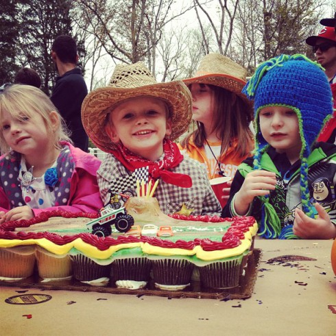 Teen Mom Bentley celebrates his fourth birthday as a cowboy