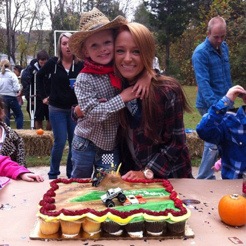 Teen Mom's Bentley Edwards' fourth birthday party