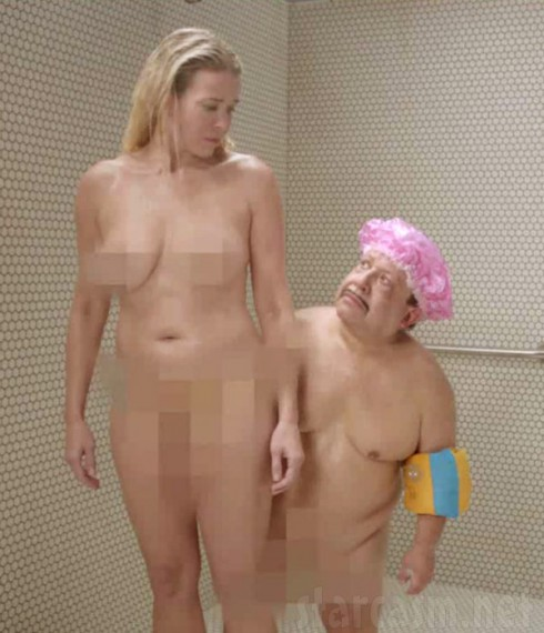 Chelsea Handler nude in the shower with Chuy Bravo