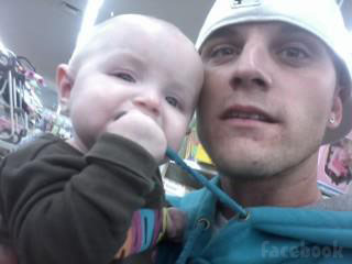 Jenelle Evans' new boyfriend Courtland Rogers with his daughter JaJa Jordan Lewis photo 1