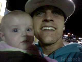 Jenelle Evans' new boyfriend Courtland Rogers with his daughter JaJa Jordan Lewis photo 4
