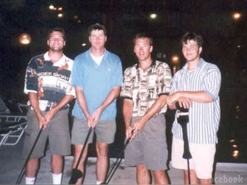 Duck Dynasty's Willie Robertson Jase Robertson Jep Robertson Alan Robertson without beards