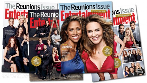 EW Reunions Issue 3 2013 all 4 covers