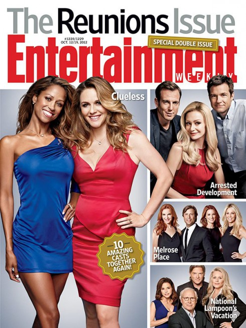 Alicia Silverstone and Stacey Dash Entertainment Weekly Reunion Issues cover