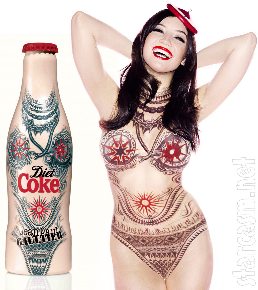 Coke Bottles For Benefits Gaultier Diet Coke Bottle And