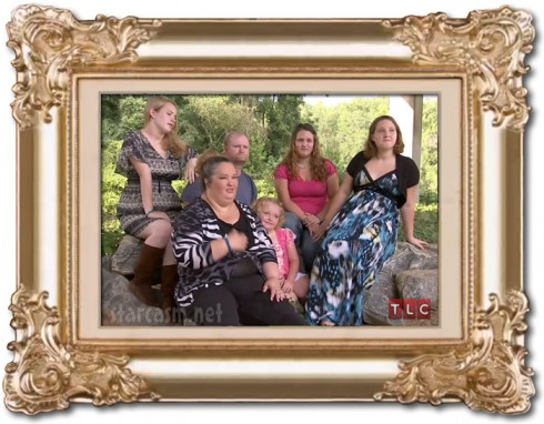 June Shannon Alana Thompson and the Honey Boo Boo family photo