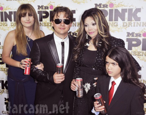 Michael Jackson's children Paris Prince and Blanket Jackson
