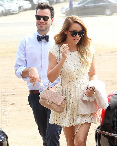 Lauren Conrad with boyfriend William Tell