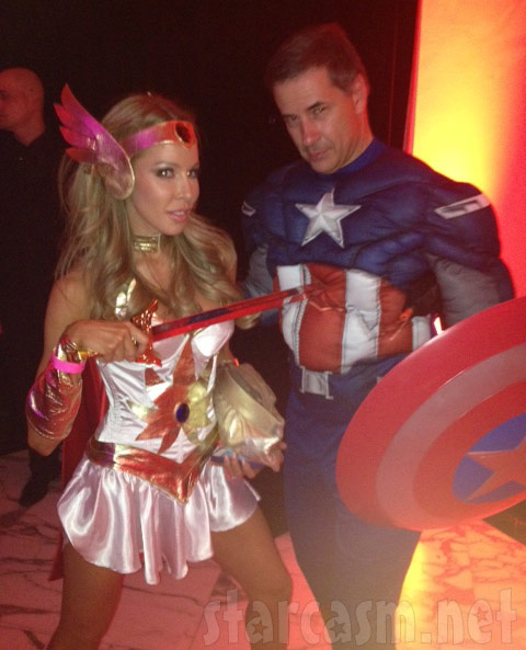Real Housewives of Miami Lisa Hochstein sexy She-Ra Halloween costume