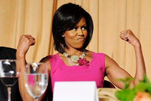 Michelle Obama p90x
