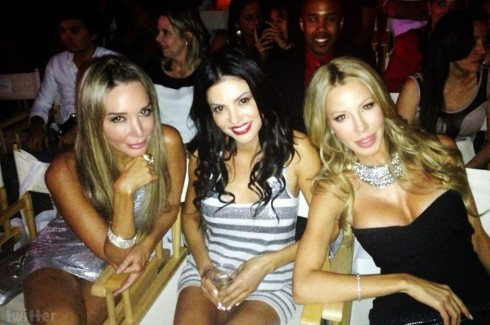 Marysol Patton Adriana de Moura and Lisa Hochstein Funkshion fashion event