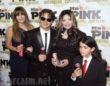 Michael Jackson's children Paris Prince and Blanket with La Toya Jackson