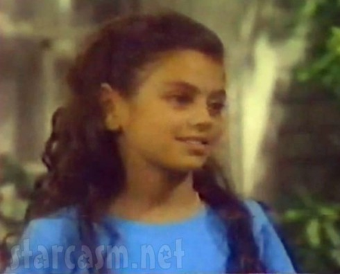 Mila Kunis as little Hope on Days of Our Lives in 1994